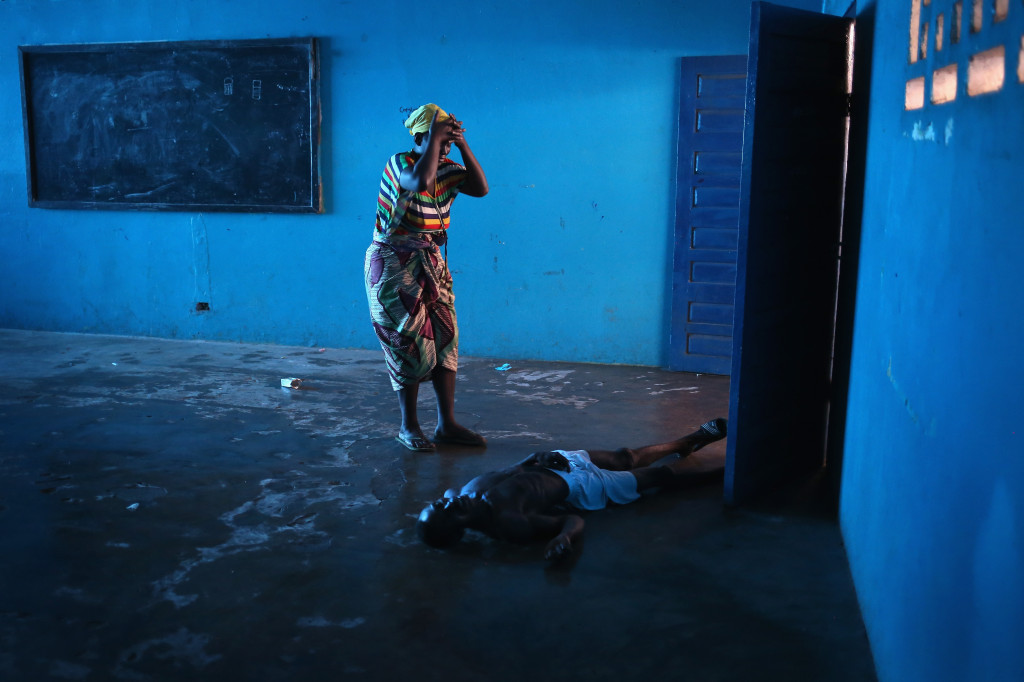 <> on August 15, 2014 in Monrovia, Liberia.