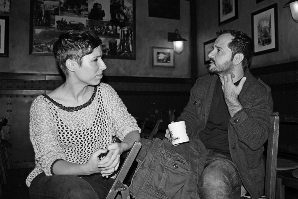 Marta Nebot y Ángel Martín