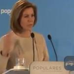 """Vídeo: María Dolores de Cospedal  y su """"saquear nuestro país"""""""