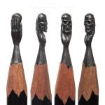 Una obra de arte en una mina de lápiz: Salavat Fidai