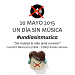 Vídeo: #undiasinmusica, Trending Topic en Twitter