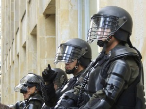 Ley mordaza policía