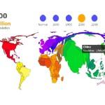 Interactivo: La evolución de la población mundial