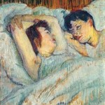 7 obras sobre besos y alcobas del pintor Toulouse-Lautrec