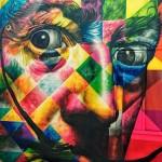 Grafiti caleidoscóspico: Eduardo Kobra