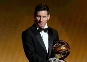 Messi Balón de Oro 2