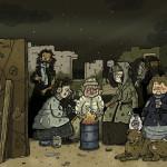 60 dibujantes recrean cuadros de Goya, Rembrandt o Picasso