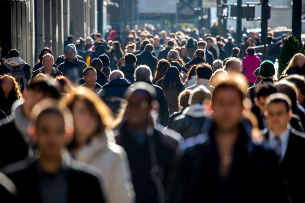 Gente anónima población