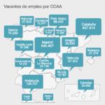 ¿Dónde encuentras más trabajo en España?