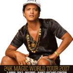 Bruno Mars llega a España con conciertos en Madrid y Barcelona