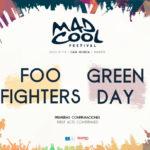 Foo Fighters y Green Day, cabezas de cartel del Mad Cool Festival 2017
