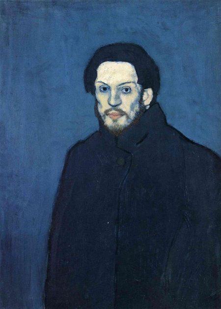 autorretratos de Pablo Picasso