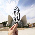 Lo que no ves: Recorte y monumento de Paperboyo
