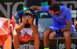 Vídeo: Almagro abandona entre lágrimas y el apoyo de Del Potro