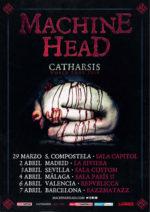 Machine Head: La gira de 6 conciertos en España que traerá 'Catharsis'