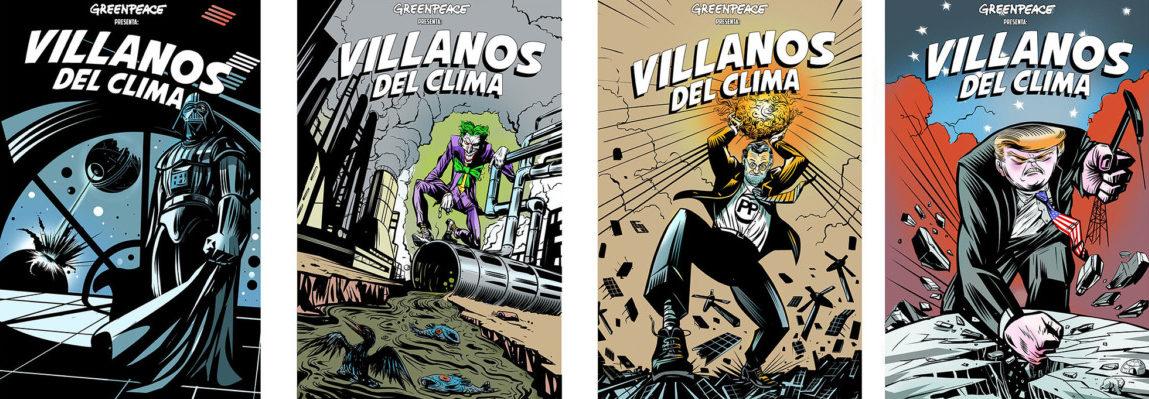villanos del clima