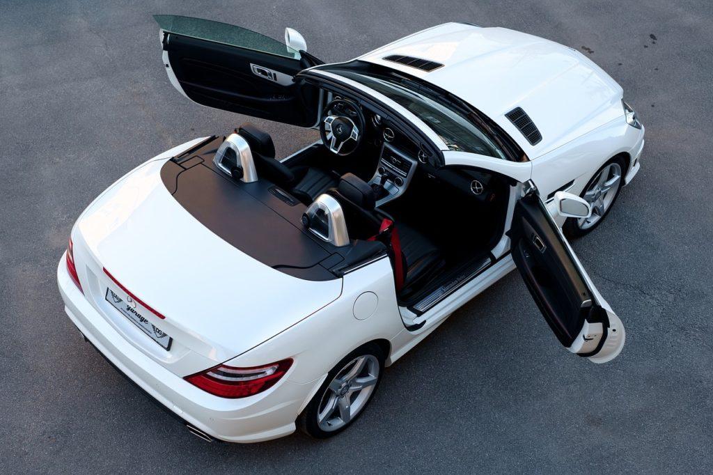 coche color blanco