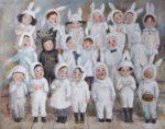 Ninó Chakvetadze: la pintora de los niños