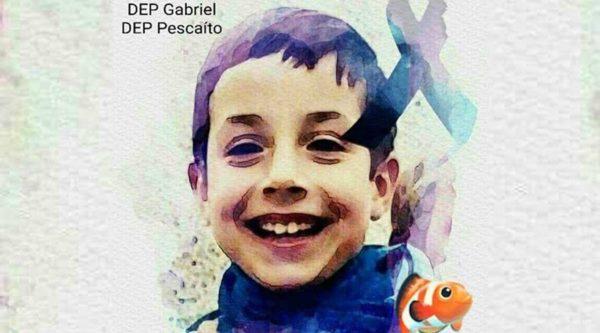 pequeño Gabriel Cruz