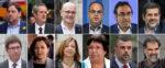 100 años de prisión: Las 12 condenas de la sentencia del procés